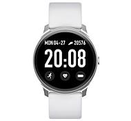 abordables -KW19 Smartwatch Montre Connectée pour Android iOS Samsung Apple Xiaomi Bluetooth 1.3 pouce Taille de l'écran IP 67 Niveau imperméable Ecran Tactile Moniteur de Fréquence Cardiaque Mesure de la