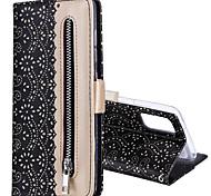economico -telefono Custodia Per Samsung Galaxy Integrale Custodia in pelle Custodia flip S9 S9 Plus S8 Plus S8 Bordo S7 S7 Bordo S6 S6 A6 (2018) A8 2018 Porta-carte di credito Con chiusura magnetica Fantasia