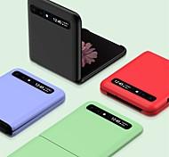 economico -telefono Custodia Per Samsung Galaxy Per retro Custodia flip Galaxy Z Flip Con chiusura magnetica Tinta unica TPU