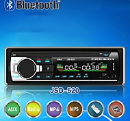 abordables -jsd-520 mains libres multifonction autoradio autoradio stéréo fm radio mp3 lecteur audio 5v chargeur usb sd aux auto électronique subwoofer 1 din autoradio