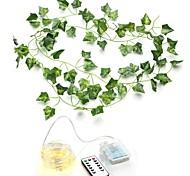 abordables -100LED 10 M Simulation Rotin Tenture Murale Ornement Plantes Artificielles Liane Vigne En Plastique Feuille Verte Lierre DIY Guirlande De Mariage Décor