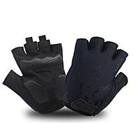 economico -ak050 guanti da ciclismo uomo guanti mezze dita guanti da bici da strada guanti da bici gel pad antiscivolo traspirante guanti da mountain bike da donna unisex