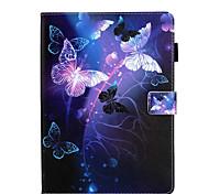 economico -telefono Custodia Per Apple Integrale iPad Mini 3/2/1 iPad Mini 4 iPad Mini 5 Rotazione a 360° Resistente agli urti A calamita Frasi famose Farfalla Panda pelle sintetica TPU
