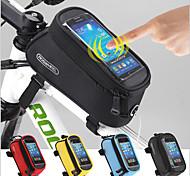 economico -ROSWHEEL 1.5 L Borsa per cellulare Marsupio triangolare da telaio bici Schermo touch Multifunzione Ompermeabile Borsa da bici Poliestere 600D Marsupio da bici Borsa da bici Ciclismo / Bicicletta