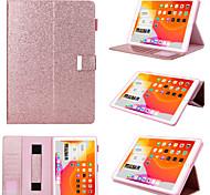 abordables -téléphone Coque Pour Apple Coque Intégrale iPad 10.2''(2019) iPad Pro 10.5 IPad Air3 10.5 '2019 Rotation à 360 ° Antichoc Magnétique Couleur Pleine faux cuir TPU
