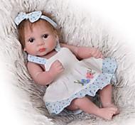 abordables -Vêtements de poupées Reborn Baby Accessoires de poupée Reborn Tissu en Coton pour poupée Reborn 10-11 pouces Poupée Reborn Non Incluse Fleur Doux Pur fait main Fille 3 pcs