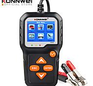economico -konnwei kw650 tester batteria 12v 6v auto moto batteria analizzatore di sistema 2000cca ricarica strumenti di test di avviamento per l'auto
