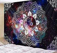 abordables -mandala bohème tapisserie murale art décor couverture rideau suspendu maison chambre salon dortoir décoration boho hippie psychédélique fleur floral lotus lune étoile indien