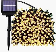 abordables -22m 200LED solaire LED guirlande lumineuse extérieure guirlande lumineuse 8 fonctions guirlandes extérieures étanche jardin pelouse cour décoration de noël lumière