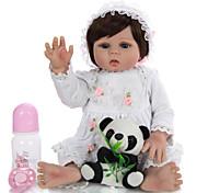 economico -KEIUMI 19 pollice Bambola rinato Per bambino e infante Bambola del bambino rinato Bambine Regalo Romantico Lavabile Adorabile Interazione tra genitori e figli Silicone integrale 19D21-C364-T11 con