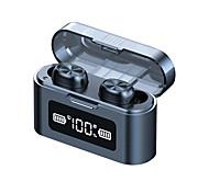 economico -279 Auricolari wireless Cuffie TWS Bluetooth5.0 Con la scatola di ricarica sweatproof Display di alimentazione a LED per Apple Samsung Huawei Xiaomi MI Cellulare