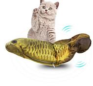 economico -Set di giocattoli per gatti Pesce Flopping Pesciolino che ondeggia Giocattolo di pesce kicker gatto in movimento Giocattoli interattivi per gatti Roditori Prodotti per gatti Gattino 1 pc Prodotti per