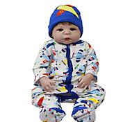 abordables -Vêtements de poupées Reborn Baby Accessoires de poupée Reborn Tissu en Coton pour poupée Reborn de 22 à 24 pouces Poupée Reborn Non Incluse Avion Doux Pur fait main Garçon 3 pcs