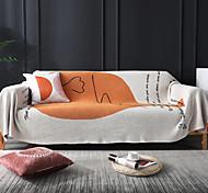 abordables -Housse de canapé Moderne Relief 100% Coton Literie