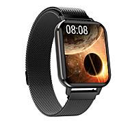 abordables -DTX Unisexe Bracelets Intelligents Bluetooth Moniteur de Fréquence Cardiaque Mesure de la pression sanguine Calories brûlées Contrôle des Fichiers Médias Santé Chronomètre Podomètre Rappel d'Appel