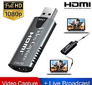 economico -scheda di acquisizione video adattatore hdmi videocamera dvd usb 2.0 videocamera videocamera hd registrazione live streaming