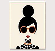 economico -arte pop incorniciata fumetto stampa su tela moda moderna bella ragazza ps pittura a olio arte della parete adatta per la decorazione soggiorno pronta da appendere 1 pezzo