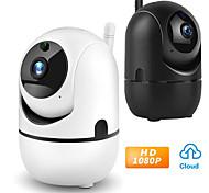 abordables -LITBest 616617713827 1 mp Caméra IP Intérieur Soutien 128 GB / Câblé / Détection de présence / De Qualité