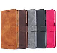economico -telefono Custodia Per Samsung Galaxy Integrale Custodia in pelle Custodia flip A70S A40S A71 A90 5G Porta-carte di credito Con chiusura magnetica Tinta unica pelle sintetica