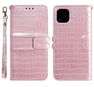 economico -telefono Custodia Per Apple Integrale Custodia in pelle Custodia flip iPhone 11 Pro Max SE 2020 X XR XS Max 8 7 6 Porta-carte di credito Con chiusura magnetica A calamita Tinta unica Animali pelle