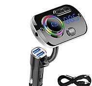 abordables -BC49A Bluetooth 5.0 Kit voiture Bluetooth Mains libres de voiture MP3 Automatique