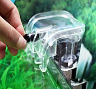abordables -mini cascade de réservoir de poissons d'aquarium accrocher sur le filtre à eau de pompe à oxygène externe filtre en coton biochimique haute performance fournir
