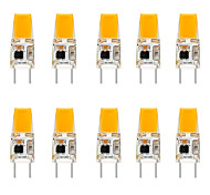 abordables -10pcs 6 W LED Ampoule En Silicone Bi-Pin Lumières 3000 Lm G8 T 1 LED Perles Cob Dimmable Blanc Chaud Blanc Pas De Choc Électrique Cristal Lustres Applique Lumière Source110-120 V