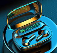 abordables -LITBest R3 Écouteurs sans fil TWS Casques oreillette bluetooth Sans Fil Stéréo Deux pilotes Couplage automatique Mobile Power pour les Smartphones Contrôle tactile intelligent pour Téléphone portable