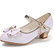 economico -Da ragazza Tacchi Scarpe da cerimonia per bambine Scarpe da principessa Halloween PU Ragazzini (4-7 anni) Bianco Rosa Autunno Primavera