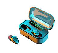 abordables -G20 Écouteurs sans fil TWS Casques oreillette bluetooth Bluetooth5.0 Stéréo LA CHAÎNE HI-FI Avec boîte de recharge IPX5 Mobile Power pour les Smartphones pour Jeux