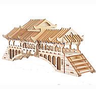 abordables -Puzzles 3D Maquette en Papier Kit de Maquette Bâtiment Célèbre Ours A Faire Soi-Même Papier cartonné Classique Enfant Unisexe Garçon Jouet Cadeau