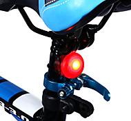 abordables -LED Eclairage de Velo Imperméable Eclairage de Vélo Arrière Eclairage sécurité / feu clignotant velo Vélo Cyclisme Imperméable LED Design nouveau Largage rapide CR2032 2.5 lm Rouge Camping / ABS
