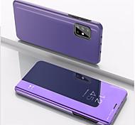 economico -telefono Custodia Per Samsung Galaxy Integrale Custodia flip A51 Galaxy A11 Galaxy A71 Galaxy M30s Galaxy A10s Galaxy A20s A31 Galaxy M11 A51 5G A21s Resistente agli urti Con supporto A specchio