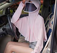 abordables -vêtements résistant au soleil fibre respirant ultra-mince uv été en plein air équitation voiture électrique vêtements résistant au soleil viscose écran solaire vêtements châle mince manteau