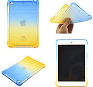 economico -telefono Custodia Per Apple Per retro iPad Mini 3/2/1 iPad Mini 4 iPad Mini 5 Rotazione a 360° Resistente agli urti Colore graduale e sfumato TPU