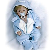 abordables -Vêtements de poupées Reborn Baby Accessoires de poupée Reborn Tissu en Coton pour poupée Reborn de 22 à 24 pouces Poupée Reborn Non Incluse Créatif Doux Pur fait main Fille 2 pcs