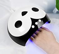 abordables -mini5s mini5b 9sd sèche-ongles 36w / 12leds led uv lampe détection de mouvement lcd affichage nail art outil pour tous les gels pour nail machine durcissant 30s / 60s / 99s / 120s minuterie connecteur