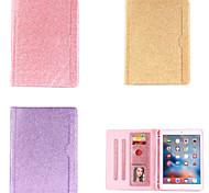 abordables -téléphone Coque Pour Apple Coque Intégrale iPad Mini 3/2/1 iPad Mini 4 iPad Mini 5 Rotation à 360 ° Antichoc Magnétique Couleur Pleine faux cuir TPU