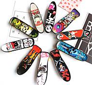 economico -12 pcs Skateboard finger Mini tastiere Giocattoli per dita Plastica Giocattoli per ufficio Fantastico con ruote e strumenti di ricambio Pattinare Per bambini Teen Bomboniere per i regali per bambini