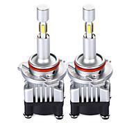 abordables -2pcs 9004 / H9 / H7 Automatique Ampoules électriques 30 W SMD 5730 / LED SMD 3600 lm 12 LED Lampe Frontale Pour Volkswagen / Toyota / Hyundai Sorento / Patriot / Swift Toutes les Années
