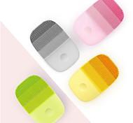 abordables -xiaomi inface officiel brosse de nettoyage du visage outils de soins de la peau du visage nettoyant silicone électrique sonique étanche