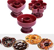 economico -waffle donut maker cutter in plastica a forma di fiore dispenser ciambella stampo portatile arabo waffle stampo da cucina attrezzo da dessert