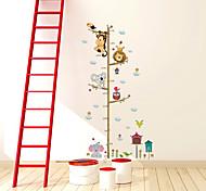 economico -Adesivi murali righello di misurazione dell'altezza del bambino Adesivi murali decorativi, decorazione murale in pvc per decorazioni per la casa / rimovibile 25 * 70 cm