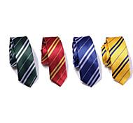 economico -Cosplay Harry magico Grifondoro Serpeverde Cravatta Per uomo Per donna Cosplay di film Nero Giallo Rosso Cravatta Halloween Fibra acrilica