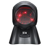 economico -YK&SCAN 8160 Scanner di codici a barre Scanner USB 2.0 Luce laser 3200 DPI