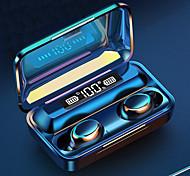 abordables -LITBest F95 Écouteurs sans fil TWS Casques oreillette bluetooth Sans Fil Stéréo Deux pilotes Banque d'alimentation mobile Résistant à la sueur Couplage automatique pour Téléphone portable