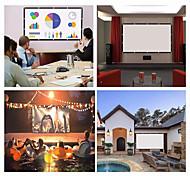 """economico -schermo da proiezione 16: 9 hd schermo pieghevole portatile casa da esterno ktv ufficio schermo di proiezione 3d per home theater (150 """"/ 120"""" / 84 """"/ 72"""" / 60 """")"""