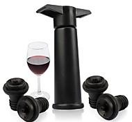economico -tappi per bottiglie sottovuoto per risparmio di vino 1 pompa con tappo per tappi per bottiglie sigillato da 4 pezzi