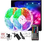abordables -LED bandes lumineuses musique sync 300leds 10 m RVB LED bande lumineuse pour l'éclairage de la pièce SMD 5050 kit de lumières de bande à changement de couleur avec contrôleur LED bande LED flexible