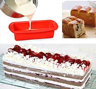 abordables -1 pc Moules à gâteaux Multifonction Rectangulaire Silicone Moules à gâteaux Multifonction